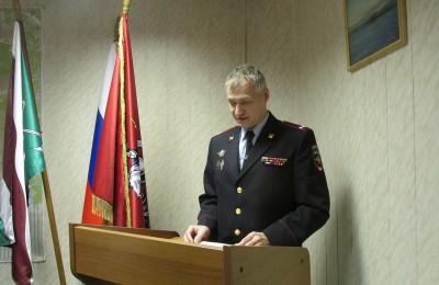 Подполковник полиции Петр Попов