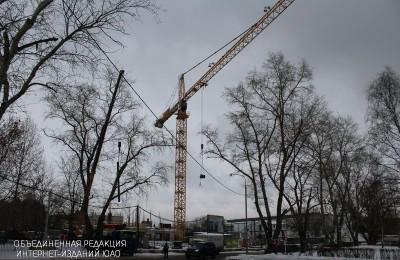 На улице Речников построят офисный центр