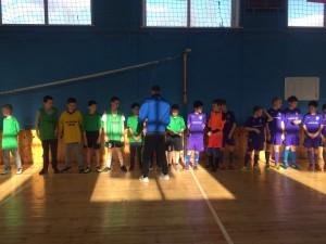 Турнир по мини-футболу состоялся в центре досуга «Планета молодых»