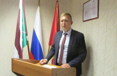 Новый руководитель районного центра досуга и спорта «Планета молодых» Антон Сурин