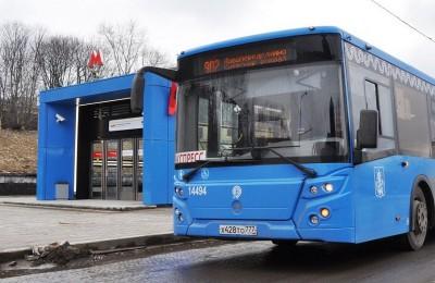 Автобус с турникетом