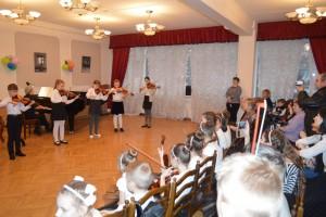 Отчетный концерт струнного отдела детской музыкальной школы имени Караева