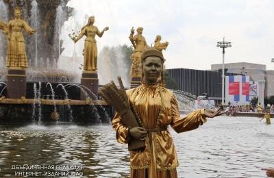 """Фонтан """"Дружба народов"""" на ВДНХ"""