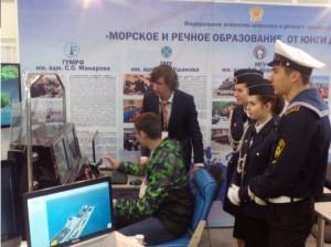 Курсанты МГАВТ приняли участие в открытии форума Московского международного салона образования