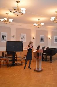 Один из концертов в Симоновке
