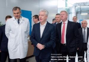Собянин открыл новый технологический центр в технополисе «Москва»