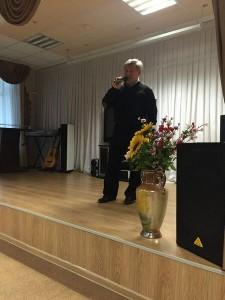 Встреча посетителей ТЦСО с заслуженным артистом эстрады и кино Российской Федерации Александром Ильчининым