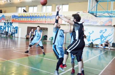 В ЮАО завершится Чемпионат Москвы среди баскетболистов старше 35 лет