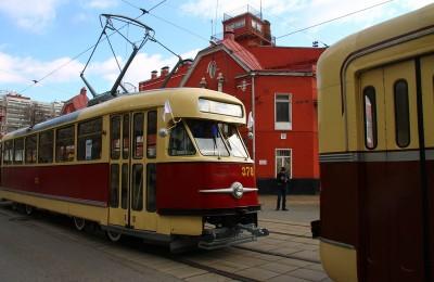 118-летие столичного трамвая отпраздновали в Москве
