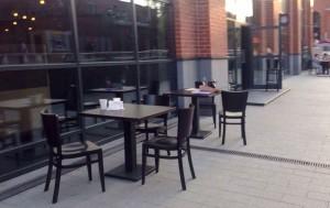 В районе Нагатинский затон открылись летние кафе