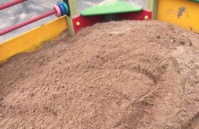 Песок после замены