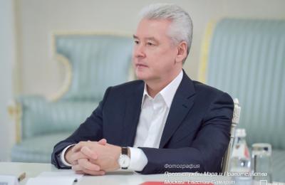 Мэр Москвы Сергей Собянин выразил свои соболезнования Фото: Евгений Самарин