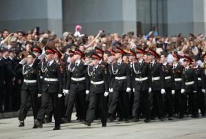 Зрителями парада кадет в Москве станут около 20 000 человек