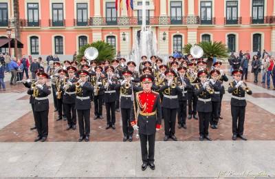 Воспитанники Московского музыкального кадетского корпуса выступили перед собравшимися ветеранами на празднике «Дни Москвы»