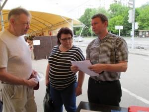 Депутаты оценили качество услуг на ярмарке выходного дня