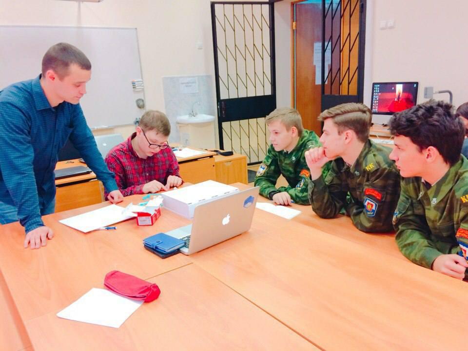 Юные программисты на мастер-классе