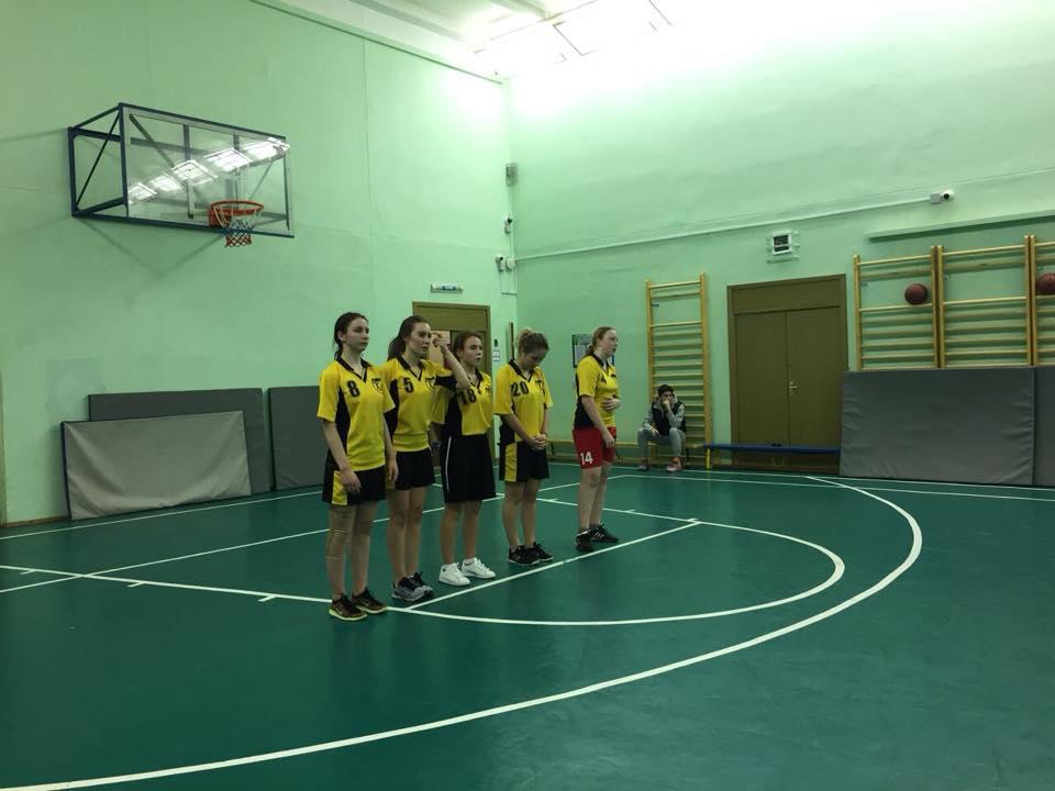 Баскетбольная сборная школы