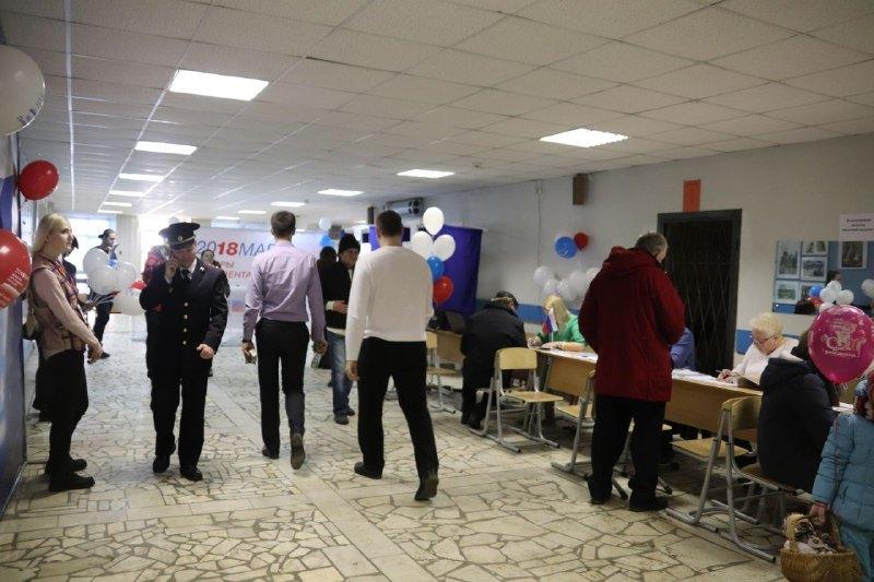 Избирательный участок в ЮАО