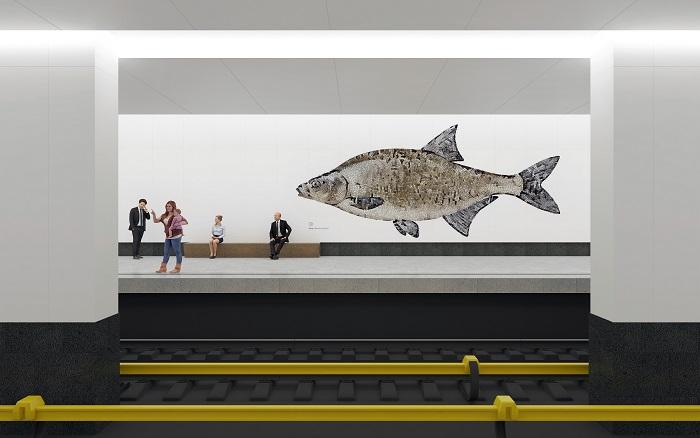 Объявлены победители конкурса на визуальное оформление новых станций метро в Нагатинском затоне