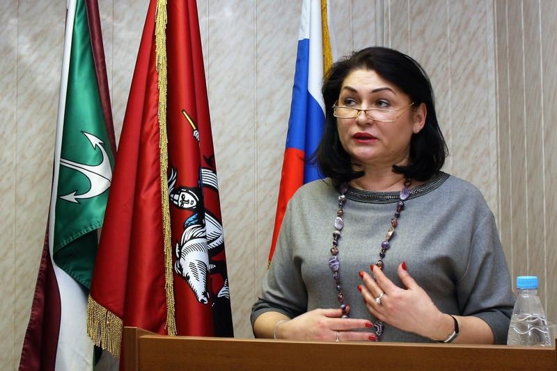 Ирина Джиоева отчиталась перед депутатами о работе за прошлый год
