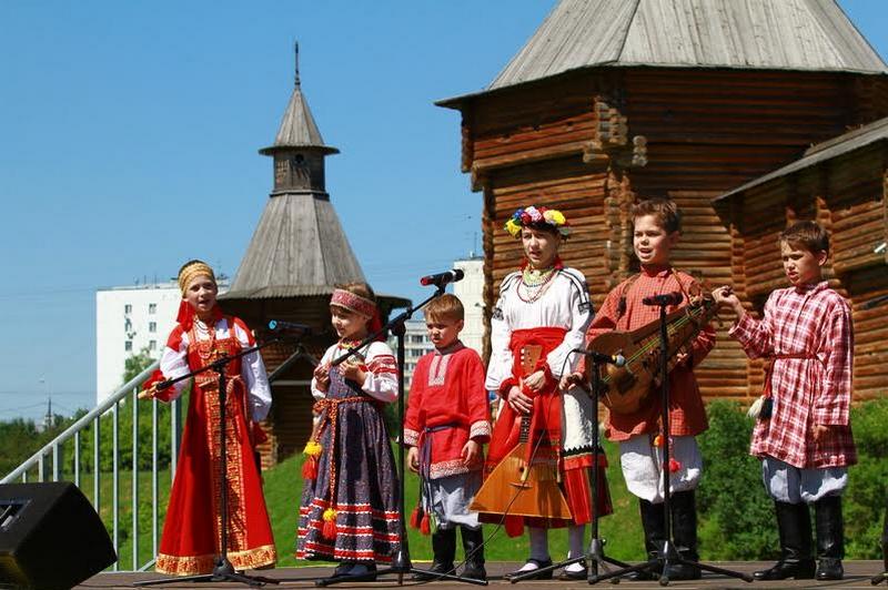 На пресс-туре в Коломенском