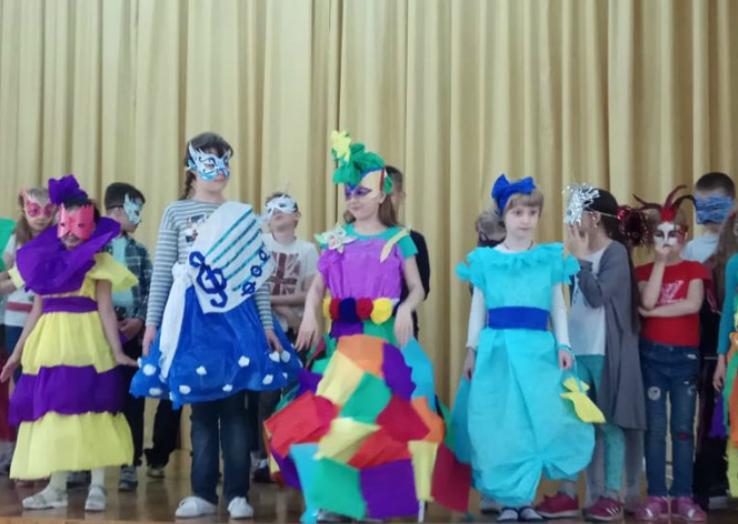 Карнавал в школе № 1770