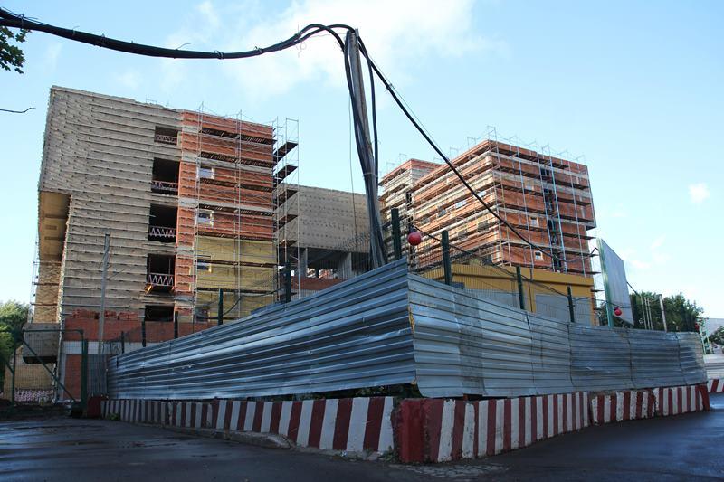 Строительство поликлиники в районе