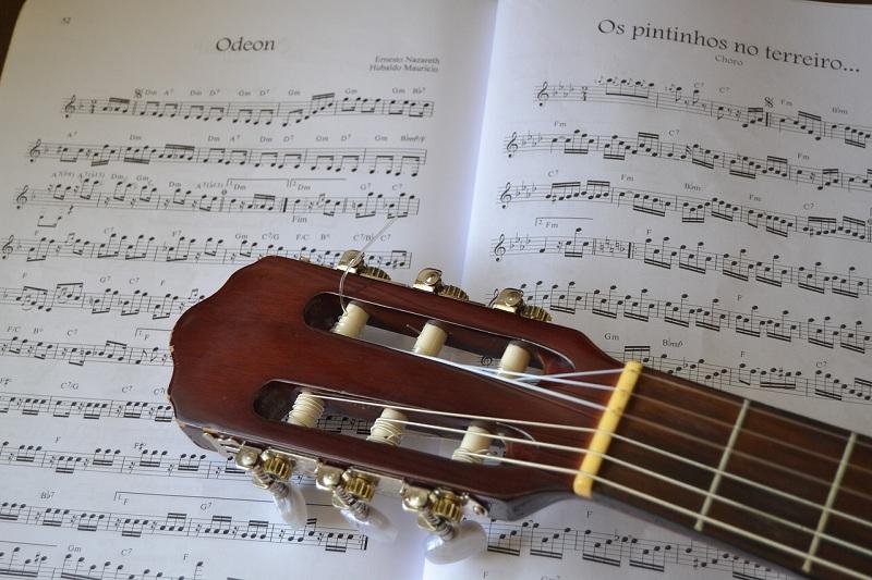 гитара, ноты, пиксибэй, 800, 1812