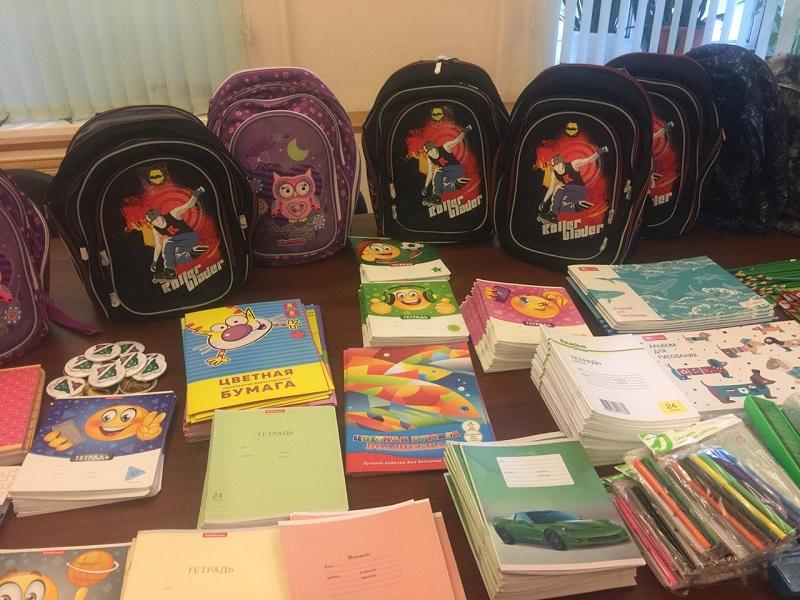 собери ребенка в школу, портфель, акция, муниципалка, Гук, 2408