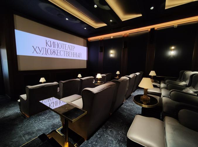 Москвичам рассказали, как шла реставрация кинотеатра «Художественный». Фото: Антон Гердо, «Вечерняя Москва»